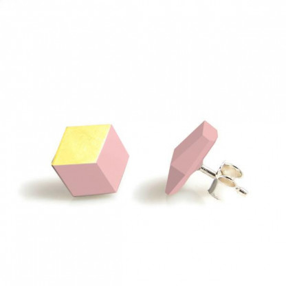 """ohrstecker ambivalenz rosa gold 102 416x416 - Ohrstecker """"Ambivalenz"""" Rosa-Gold"""