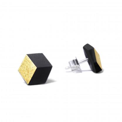 "ohrstecker ambivalenz schwarz gold 105 416x416 - Ohrstecker ""Ambivalenz"" Schwarz-Gold"