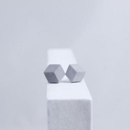 "ohrstecker purismus grau 93 416x416 - Ohrstecker ""Purismus"" Grau"