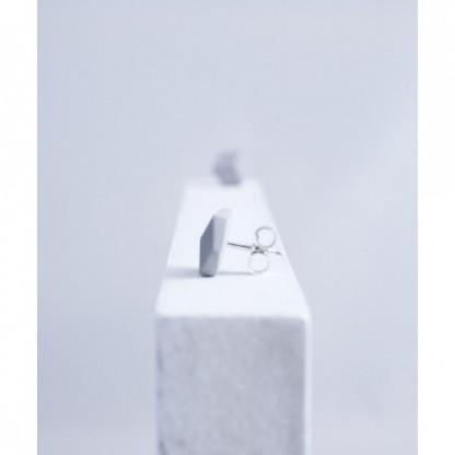 "ohrstecker purismus grau 94 416x416 - Ohrstecker ""Purismus"" Grau"