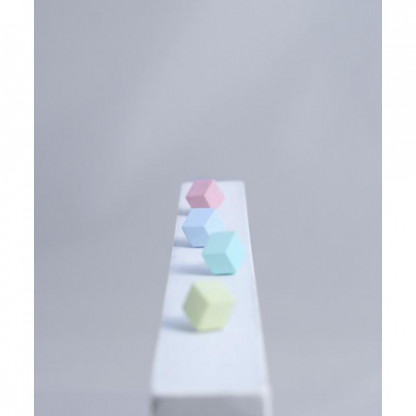 """ohrstecker purismus rosa pastel rot s 206 416x416 - Ohrstecker """"Purismus"""" Rosa"""