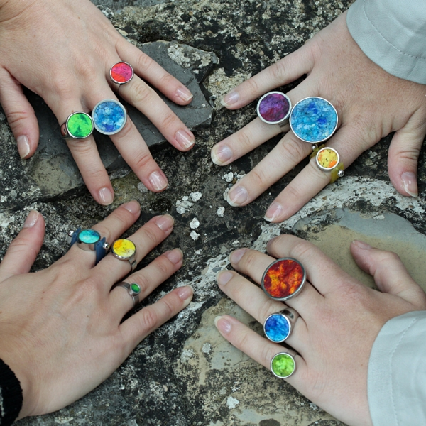 ring fairy 4 - Edelstahlring Fairy Hochglanz