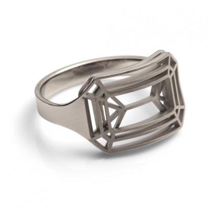 ring schmuck cut eckig 010 416x416 - Ring cut eckig Edelstahl