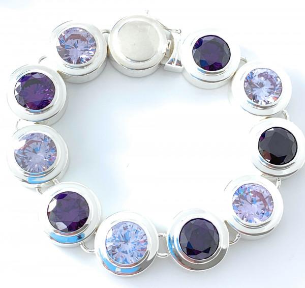 schmuck kaufen Armband Monaco 1001 152 lavendel Amethyst 600x566 - Armband Monaco mit Amethysten