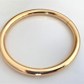 schmuck kaufen Armreif aus Gelbgold 6mm rund liegend 324x324 - Armreif Classique aus 750er Gelbgold