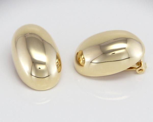 schmuck kaufen Ohrclip Beetle 6001 756 gelb vergoldet quer 600x480 - Ohrclip Beetle Golden