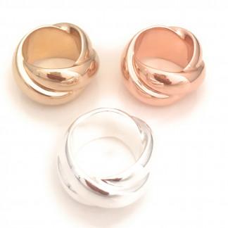 schmuck kaufen Ring Darling 8001 536 drei Farben im Kreis 324x324 - Ring Darling aus massivem Silber