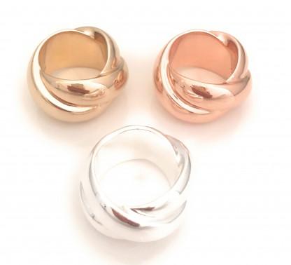 schmuck kaufen Ring Darling 8001 536 drei Farben im Kreis 416x378 - Ring Darling aus massivem Silber