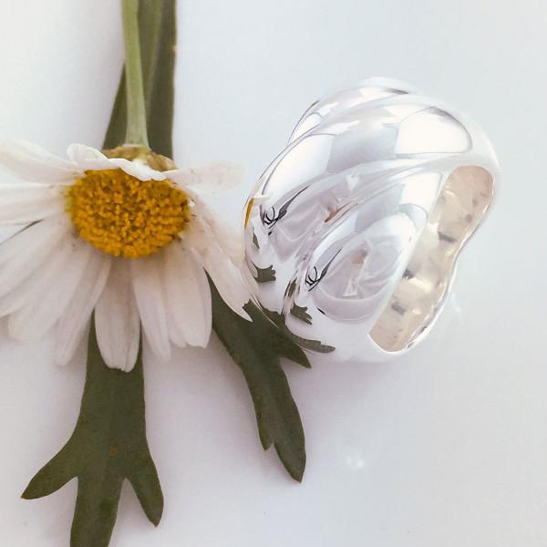 schmuck kaufen Ring Darling 8001 536 mit Margerite 600x600 - Ring Darling aus massivem Silber