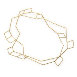 schmuck kaufen gold halskette catena rechteck 33 - Halskette catena rechteck