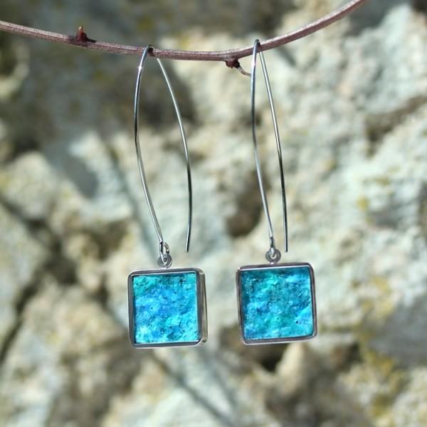 schmuck kaufen ohrhaenger alas twin quadrat m 1 blau 600x600 - Ohrhänger Alas mit Twin M quadratisch (Farbauswahl)