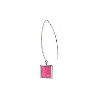 schmuck kaufen ohrhaenger alas twin quadrat m pink 324x324 - Ohrhänger Alas mit Twin M quadratisch (Farbauswahl)