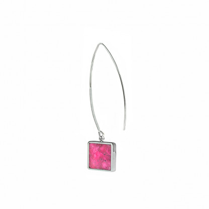 schmuck kaufen ohrhaenger alas twin quadrat m pink 416x416 - Ohrhänger Alas mit Twin M quadratisch (Farbauswahl)