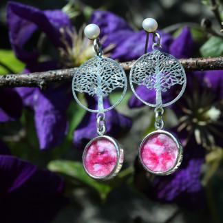 schmuck kaufen ohrhaenger bonsai 2 rosa 324x324 - Ohrhänger Bonsai (Farbauswahl)