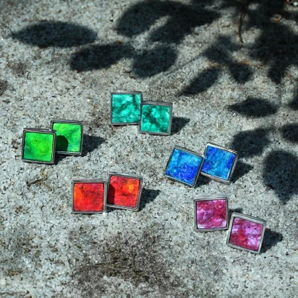 schmuck kaufen ohrstecker twinny quadrat 3 600x600 - Ohrstecker Twinny Q (Farbauswahl)